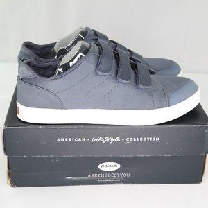 Dr Scholls Madi Strap Sneakers Sz 10 M Oxide Blue
